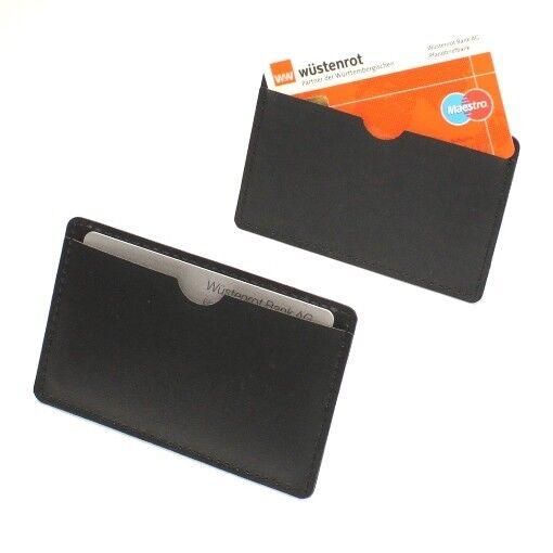 3 x Stabile EC Kartenhülle transparent Kreditkartenhülle Schutzhülle NEU Set