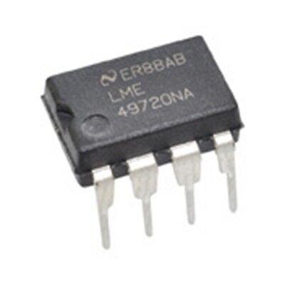 2x Lme49720na Dual Dip Opamp National Semiconductor Double Lme49720 Hifi Usa