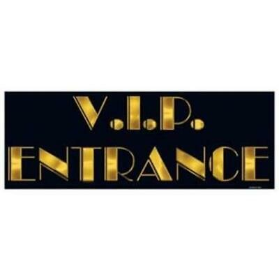 VIP Entrance Sign Banner Movie Red Carpet Awards VIP Party Decorations