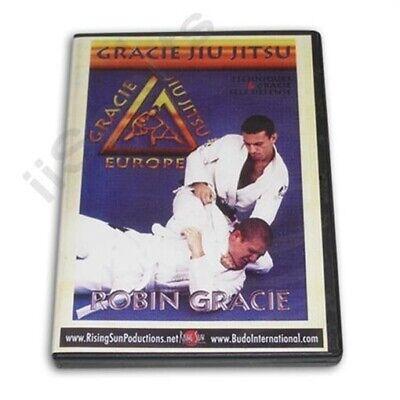 Robin Gracie Brazilian Jiu Jitsu Throwing Techniques Self Defense DVD MMA judo
