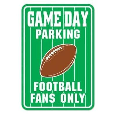 Game Day Parking Sign Football Birthday Party Decorations](Football Birthday Games)