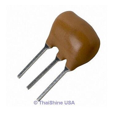 5 X 16.000 Mhz Ceramic Resonator 3-pins Ztt Series - Usa Seller - Free Shipping
