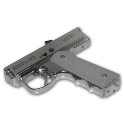 Spyder EM1 Gun Complete Replacement Electronic Single Trigger Frame SILVER NEW!
