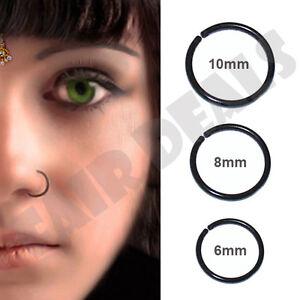 Mm X  Mm Nose Ring Titanium