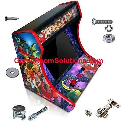 MDF Table Top Arcade Cabinet - Cam Lock System Included! Pick Control Panels!