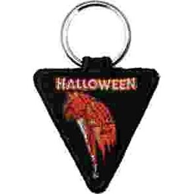 Halloween Pumpkin/Knife Movie Logo Embroidered Keyfob](Halloween Movie Logo)