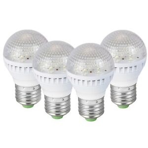 4-Pk-Energy-Efficient-7-LED-Light-Bulbs-15W-Incandescent-35-000-hr-life-span