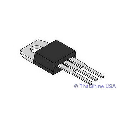 5 X Tip127 127 Transistor Complementary Pnp 100v 5a - Usa Seller - Free Shipping