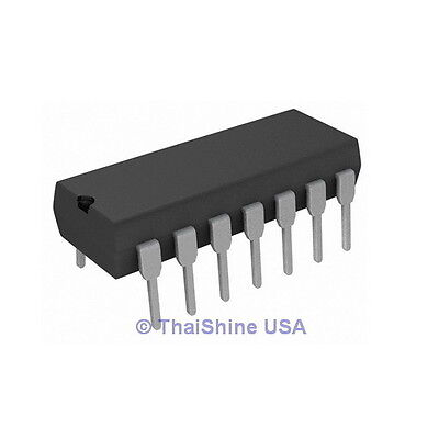 5 X Cd4013 4013 Ic Cmos Dual D Flip Flop - Texas