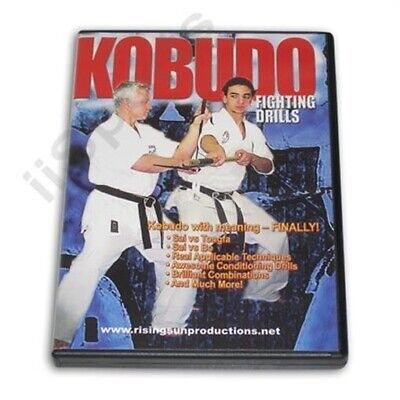 Kobudo Fighting Drills DVD Karate Bo Tonfa Sai Nunchaku Ryu Kyu Hozon Shinkokai