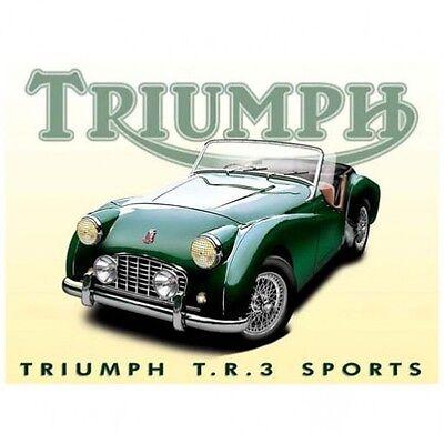 Triumph TR3 Sports Metal Sign