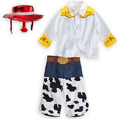JeSSiE~InFANT~CoSTuMe+SHIRT+HAT+PONYTAIL+PANT~ToY StOrY~NWT~Disney baby Store - Infant Jessie Toy Story Costume