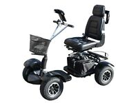 Ride on golf buggy ideal for wet winter golf