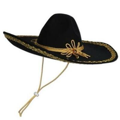 Felt Sombrero Cinco de Mayo Fiesta Mexican Costume Accessories