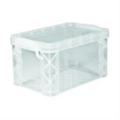 Advantus 3 X 5 In. Plastic File Index Card Holder Clear