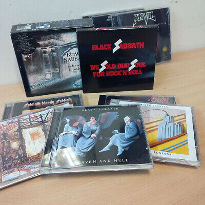BLACK SABBATH OZZY collection Wheels of Confusion Technical Mob Bloody £1 start!