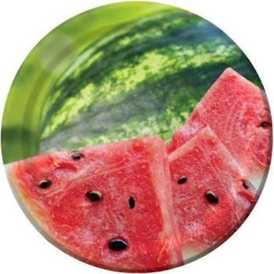 Summer Seeds Watermelon 7 Inch Paper Plates 8 Pack Summer Birthday Party Decor](Watermelon Paper Plates)