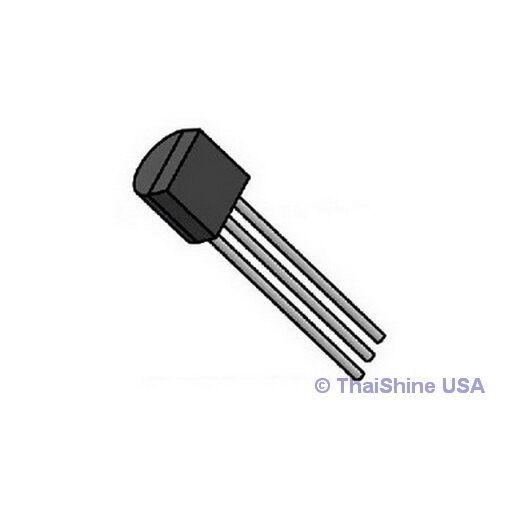 10 x LM335 Precision Temperature Sensors -40C TO 100C