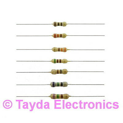 50 X 470 Ohms Ohm 14w 5 Carbon Film Resistor - Free Shipping