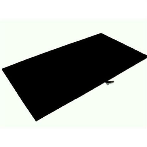 6 x Black Velvet Jewelry Display Pad & Tray Liner Only