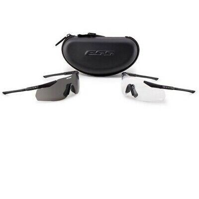 ESS Eyewear 740-0001 ICE-2X NARO Tactical LE Eyeshield Safety Glasses (Le Specs Eyewear)