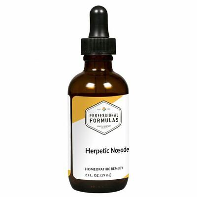 HERPETIC NOSODE PROFESSIONAL FORMULAS SUPPLEMENTS IMMUNE COLD SORES HERPES
