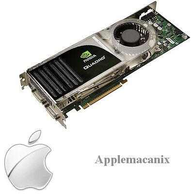 Apple Mac Pro nVidia Quadro FX 5600 1.5GB Dual DVI Video Graphics Card 661-4461 for sale  Shipping to India