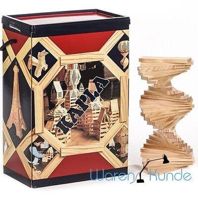 || KAPLA 200 Box || Holzbaukasten Bausteine Kappla Holz Holzplättchen Bauklötze
