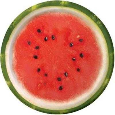 Watermelon Check 7 Inch Paper Plates 8 Pack Summer Birthday Party Decor](Watermelon Paper Plates)