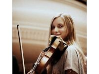 Violin tuition with an enthusiastic law student!