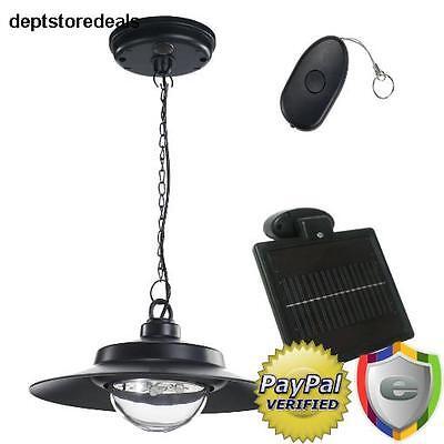 - Solar Powered Hanging Light LED Natural Remote Indoor Adjustable Shed Patio Home