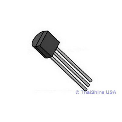 100 X Bc548 Transistor Npn 30v 0.1a - Usa Seller - 4 Days Delivery