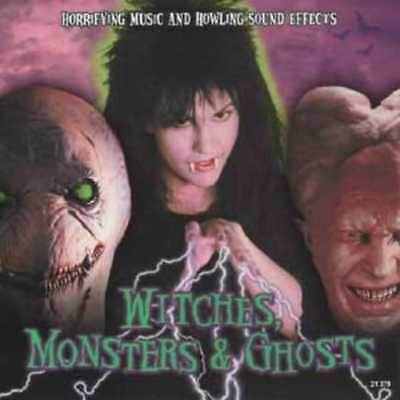 Halloween: Witches, Monsters & Ghosts: Horrifying Music & Howling Sound NEW CD](Halloween Witches Music)