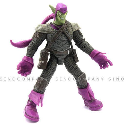 Rare prototype Marvel Super Hero Hasbro Action Figure 2008 Purple