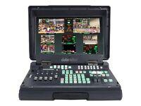 Data video Vision mixer HS-2000L Mobile HD Video Studio