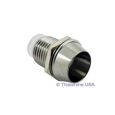 20 x 5mm Bezel LED Holder Chrome Metal - USA Seller - Free Shipping on Rummage