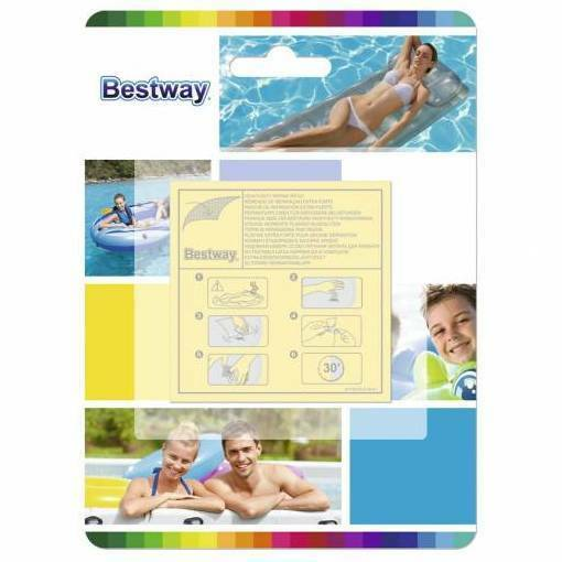 TRACKED Bestway Heavy Duty Repair Patch Kit for Air Bed Matt