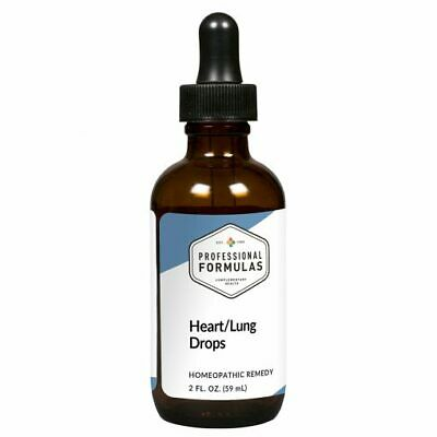 HEART/LUNG DROPS PROFESSIONAL FORMULAS SUPPLEMENTS GLANDULAR RESPIRATORY SYSTEM