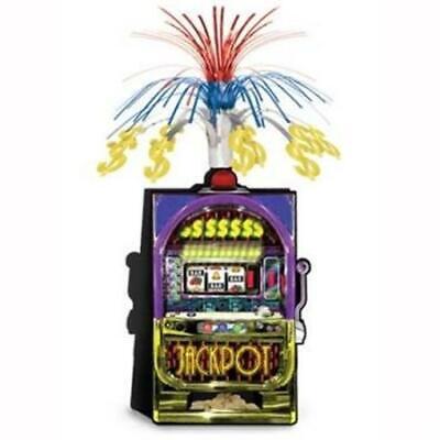 Slot Machine Jackpot Centerpiece Casino Vegas Gambling Party Table Decoration