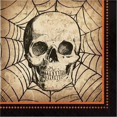 Spooky Symbols Lunch Napkins 16 Pack Halloween Party Decorations](Spooky Halloween Party Decorations)