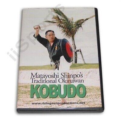 Matayoshi Shinpo Okinawan Kobudo katas sparring DVD Shinko karate sai tonfa