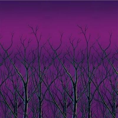Halloween Spooky Forest Tree Tops 30-foot Backdrop ()