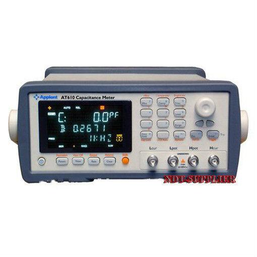 New AT610 Digital Capacitance Meter Tester 100Hz,120Hz,1kHz,10kHz