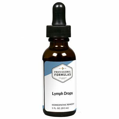 LYMPH DROPS PROFESSIONAL FORMULAS SUPPLEMENT IMMUNE SYSTEM LYMPHATIC GLANDULAR