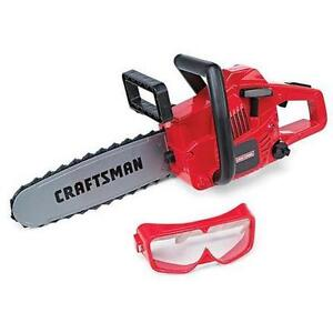 NEW: MY FIRST CRAFTSMAN Powerized Chainsaw & Goggles