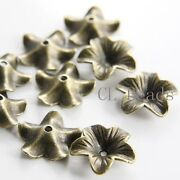 Brass Flower Bead Cap