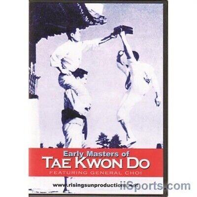 Early Masters General Choi Korean Tae Kwon Do DVD Hapkido Cane Taekwondo Karate