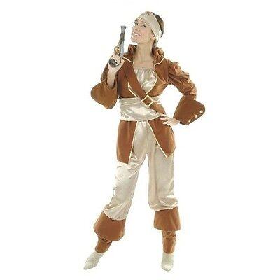 Fasching Karneval Kostüm - Pirat Piratin der Karibik - Gr. 38/40 - NEU - Piraten Der Karibik Kostüm Damen