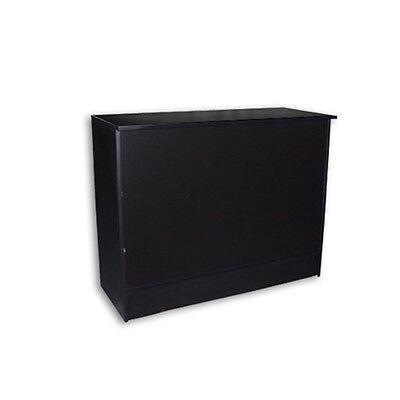 Pos Black Wrap Counter 48l X 20d X 38h