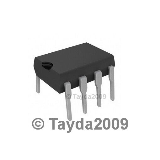2 x LM1458N LM1458 1458 IC DUAL OPERATIONAL AMPLIFIER